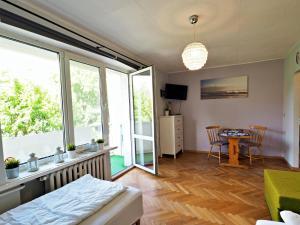 700 m plaża i Grand Hotel Studio z Balkonem