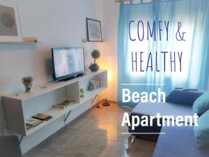 Comfy Burrero Beach Apartment Near Airport/ Wifi&Parking