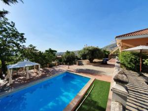 Villa with 2 bedrooms in Alfacar with wonderful mountain view private pool furnished terrace