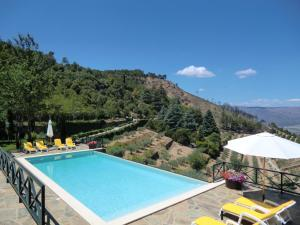 House with 2 bedrooms in Torre de Moncorvo with wonderful mountain view shared pool and enclosed garden