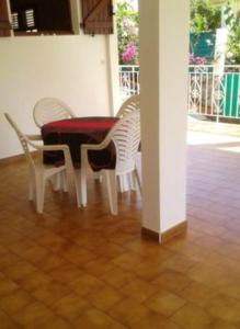 Apartment with one bedroom in Fort de France with wonderful sea view furnished terrace and WiFi