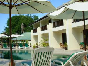 Apartment with one bedroom in Ko Samui District, with shared pool and furnished balcony - 100 m from