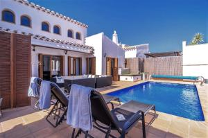Villa with 4 bedrooms in Murcia with private pool enclosed garden and WiFi 31 km from the beach