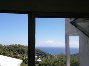 Apartment with one bedroom in Sainte Luce with wonderful sea view enclosed garden and WiFi 800 m from the beach