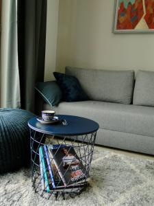 Blue Atelier apartment by TriApart