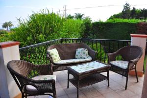 Apartment with 3 bedrooms in Fontane Bianche with wonderful sea view enclosed garden and WiFi 100 m from the beach