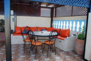 Apartment with 2 bedrooms in Mirleft with wonderful city view and furnished terrace 500 m from the beach