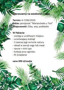 Farmstay Marianówka u Tesi