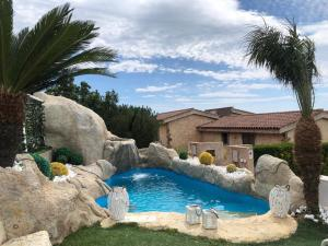 Villa with 2 bedrooms in Villaputzu with wonderful sea view private pool enclosed garden 500 m from the beach