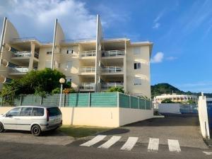 Appartement de 2 chambres a Le Marin avec magnifique vue sur la ville balcon amenage et WiFi a 5 km de la plage