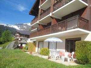 Studio in Cordon, with wonderful mountain view, furnished terrace and WiFi - 5 km from the beach - Hotel - Cordon