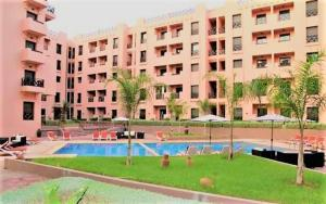 Apartment with one bedroom in Marrakech with shared pool terrace and WiFi