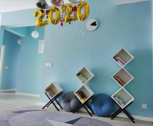 Manxuan Apartment (East River Lake 180 Degree River View Room), Ferienwohnungen  Zixing - big - 3
