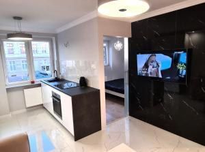 Nowoczesny Apartament Black and White
