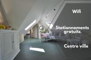 Appartement 2 étoiles - Centre ville de Bayeux - Désinfection