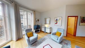 Bleu Mésange - 2 Bedrooms and 2 Bathrooms - Hotel - Strasbourg
