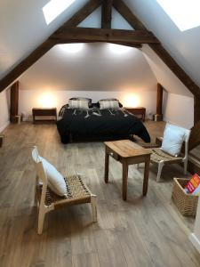 Chambre ambiance campagne chic