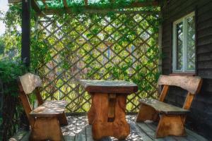 Agroturystyka Gawryś drewniany domek