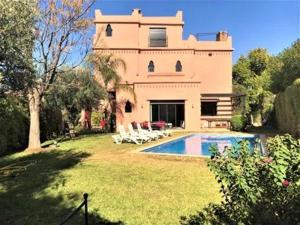 Villa with 5 bedrooms in Marrakech Annakhil with private pool enclosed garden and WiFi