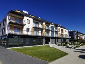 Baltin Blu Apartament Rodzinny Deluxe Suite B56 w budynku z basenem