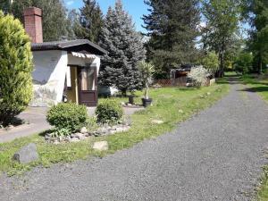 Birkenhof Holzblockhütte