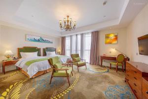 Yuyao Teckon Ciel Hotel (Yuyao Wanda Plaza store), Отели  Yuyao - big - 28