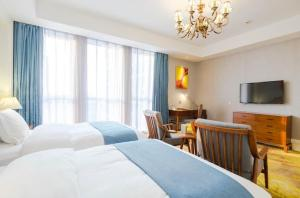 Yuyao Teckon Ciel Hotel (Yuyao Wanda Plaza store), Отели  Yuyao - big - 29