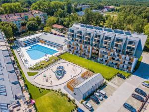 Apartament Oaza KołobrzegPodczele Kompleks Feniks basen siłownia jacuzii