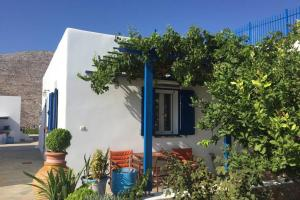 Cycladic houses in rural surrounding 3 Amorgos Greece