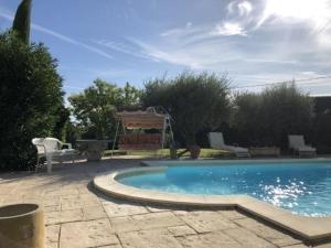 . Apartment Appartement indépendant dans jolie villa fleurie avec piscine