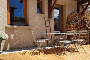 Chez Papy - Grand Appart Entirely renovated Ventelon La Grave La Meije - Hotel - La Grave