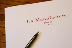 La Manufacture, Hotely  Paříž - big - 60