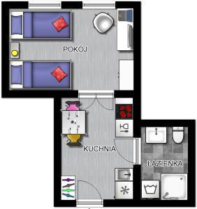 Apartament 100m od morza
