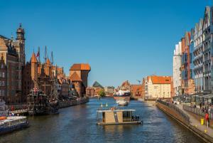 Dom na wodzie HouseBoat Gdansk Old Town Gdańsk