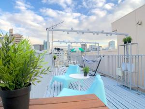 Three Bedroom Apartment with a Terrace in Tokyo