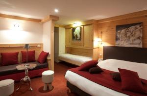Hotel Les Mélèzes, Hotely  Les Deux Alpes - big - 16