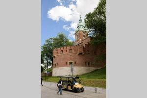 Ozonated apartment Wawel Castle across the street
