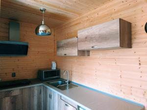 Domki drewniane u Marioli