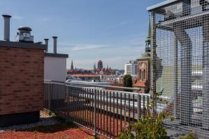 GDAŃSK Długie Ogrody 18 Rooftop Terrace parking
