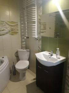 Dwupoziomowy apartament na Mazurach