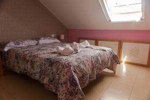 Ático con terraza en Graus-Pirineo de Huesca, Appartamenti  Graus - big - 4