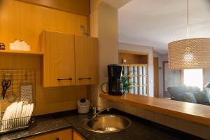 Ático con terraza en Graus-Pirineo de Huesca, Appartamenti  Graus - big - 10