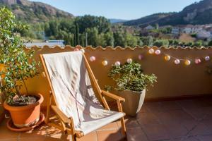 Ático con terraza en Graus-Pirineo de Huesca, Appartamenti  Graus - big - 27