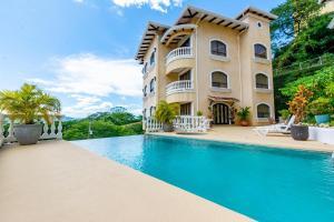 Great Designed Ocean and Mountain view Condo Tres Vista, Dovolenkové domy  Playa Flamingo - big - 34