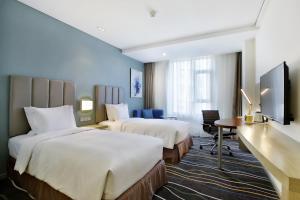 Holiday Inn Express Langfang Park View, Hotely  Langfang - big - 18