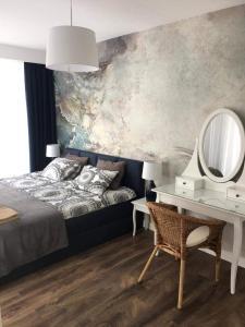 Apartament Amalia z tarasem widokowym i bocznym balkonem