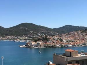Beautiful view of poros Argolida Greece