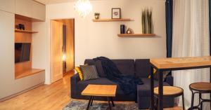 Apartament Niebieski Okrzei Garaż Targi