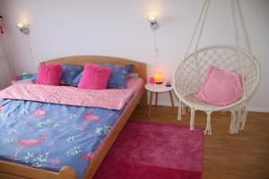 Pink Flamingo Nest - unique design apartment