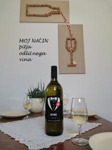 Apartma med vinogradi